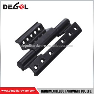 Aluminum casement black iron sliding door and window hinge