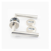 Chinese wholesaledouble sided stainless steel solid golden door handle