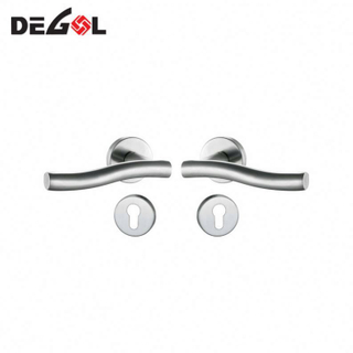 satin internal indoor Hotel apartment privacy room lever door handles