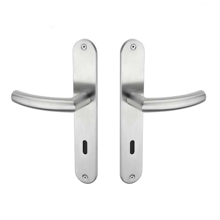 modern stainless steel door handle