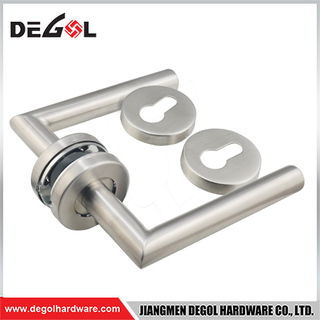 Hardware manufacturer handle tubular lock lever Stainless Steel Door Handle