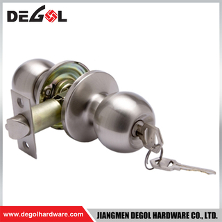 BDL1042 Stainless steel tubular knob different types of door lock