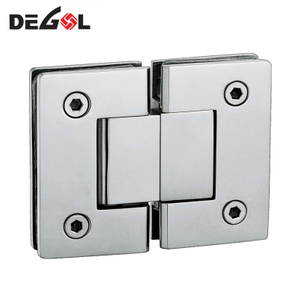 stainless steel 360 degree pivot shower hinge for bathroom glass door