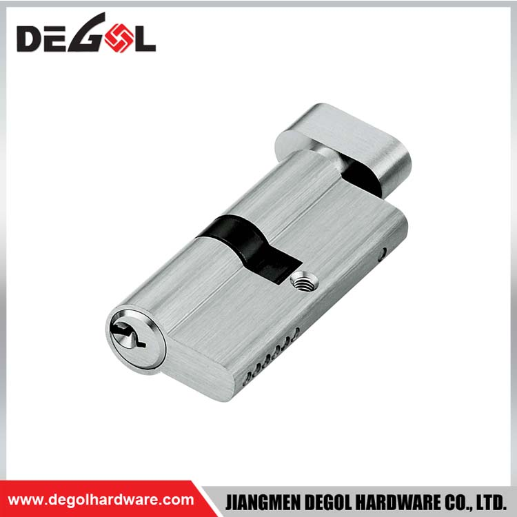 Brass Door Cylinder Lock for Steel Doors