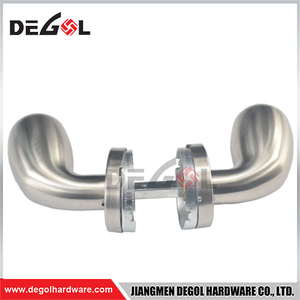 stainless steel 304 Modern door handle lock door lever handle,european door handle lock