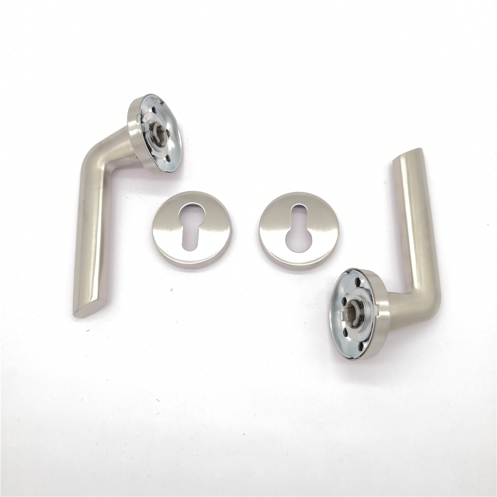 High quality cast metal hollow brass bushing lever door handle