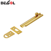 Brass door latch slide bolt window lock tower bolt antique flush door bolts