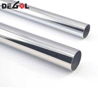 Top quality stainless steel round furniture ss pipe closet clothes tube