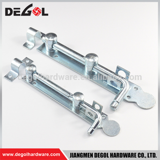 Italy Style Cheap Price Metal Door Bolts Iron Gate Latch Cheap