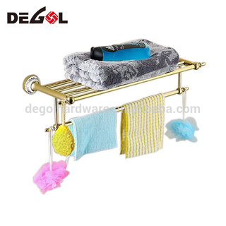 Drilling wall bathroom bathroom corner wholesale stainless steeltowel rack shelf
