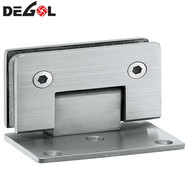90 degree one side open shower hinge clamp bathroom hinge