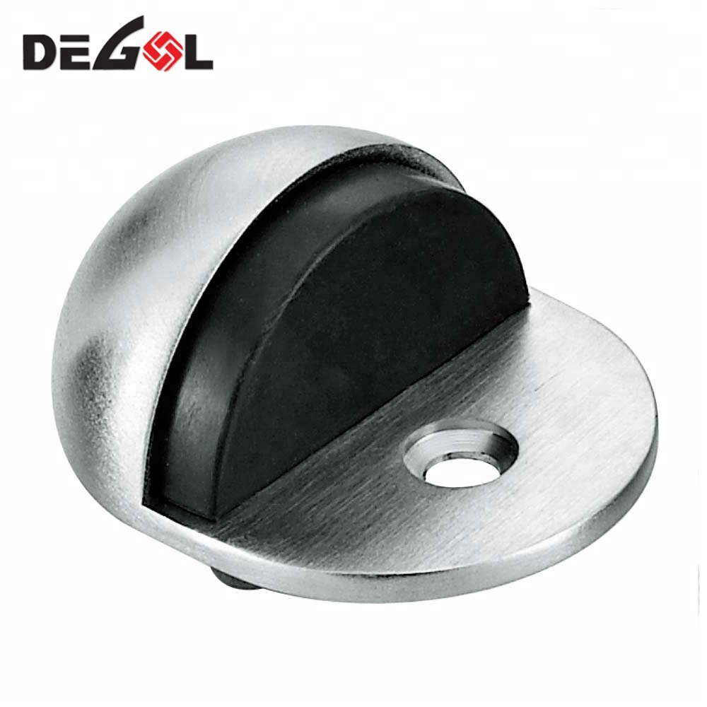 Top selling plated silicone rubber safety guard funny door stopper for sliding door