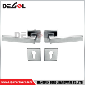 LH1005 201 or 304 stainless steel square interior door handle