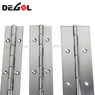 Stainless steel long hinge piano hinge furniture hinge