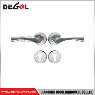luxury construction hardware exterior zinc door handle