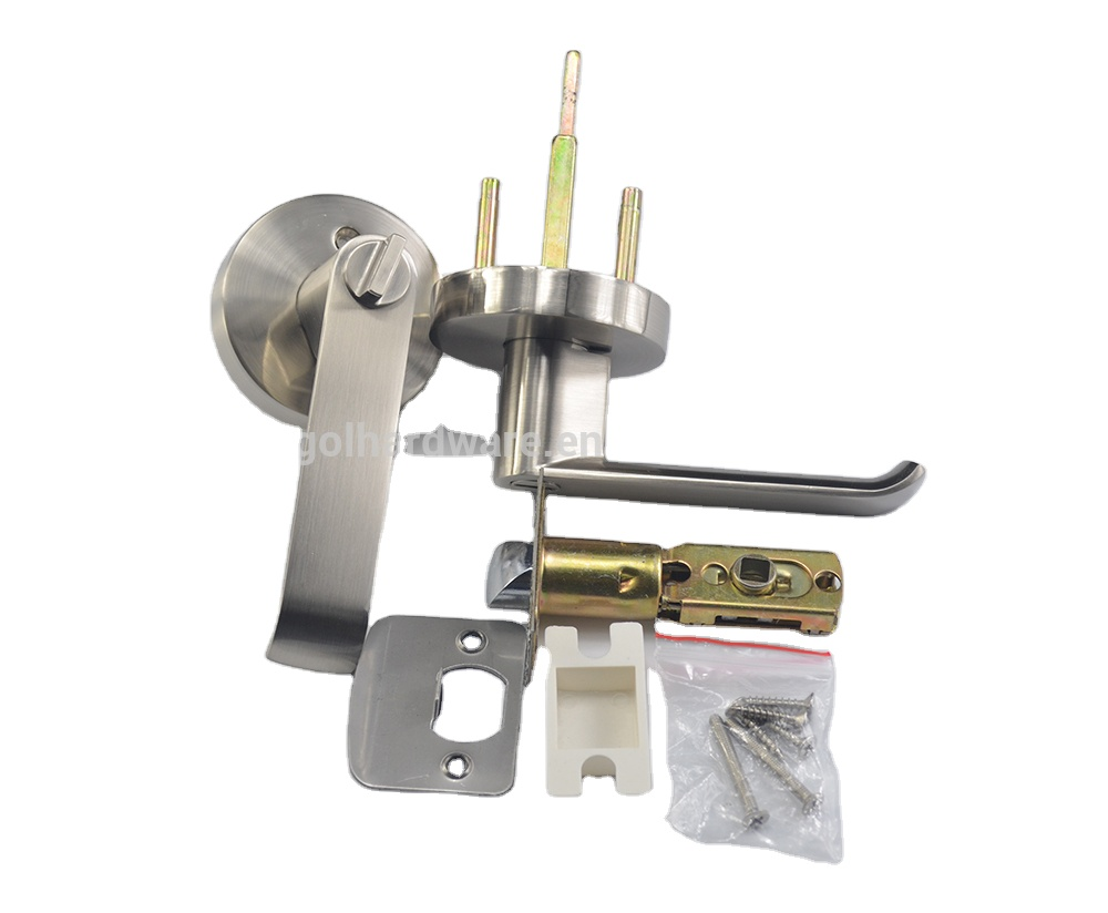 Hotel Door Handle Locks Double Handle Fire Resistant Door Handles And Locks