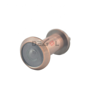 Brass Material Door Viewer with Glass Lens