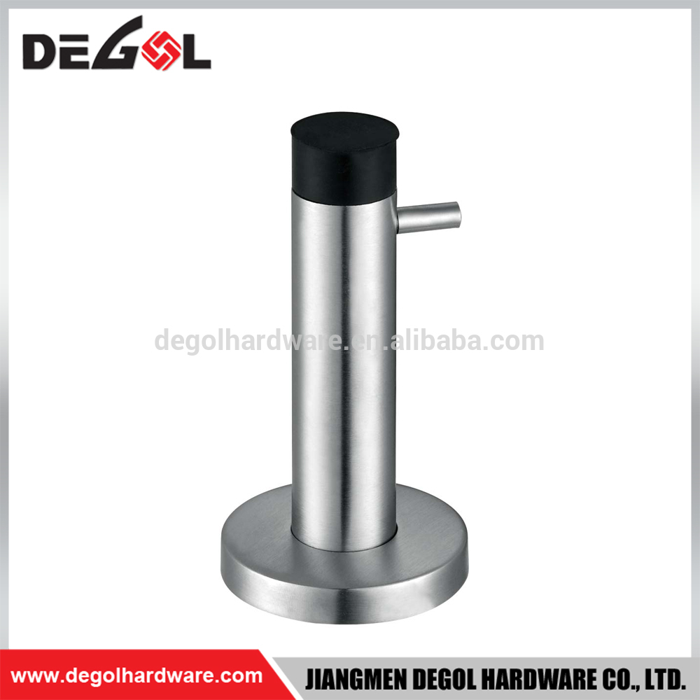 High quality rubber stainless steel door stopper with hook