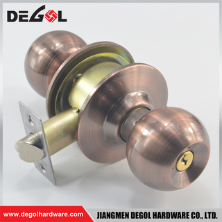 Double Handle Office Door Security Lock Interior Door Knob