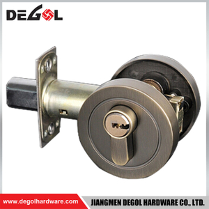 Top Quality Zinc Alloy Self Locking Deadbolt with Lock