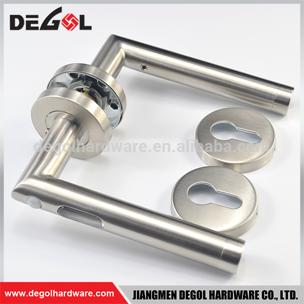 New model stainless steel 304 sensor LED light tube lever type door handle
