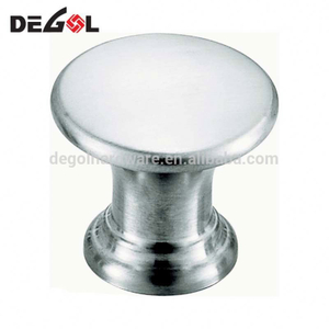 Stainless steel China cabinet furniture knobs