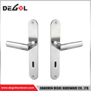 New Arrival On Rose For Interior And Exterior Zinc Door Handle Hardware